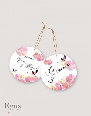 etiquetas para regalo bodas egus in love