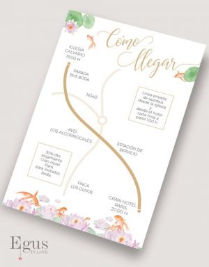 mapas de boda egus in love