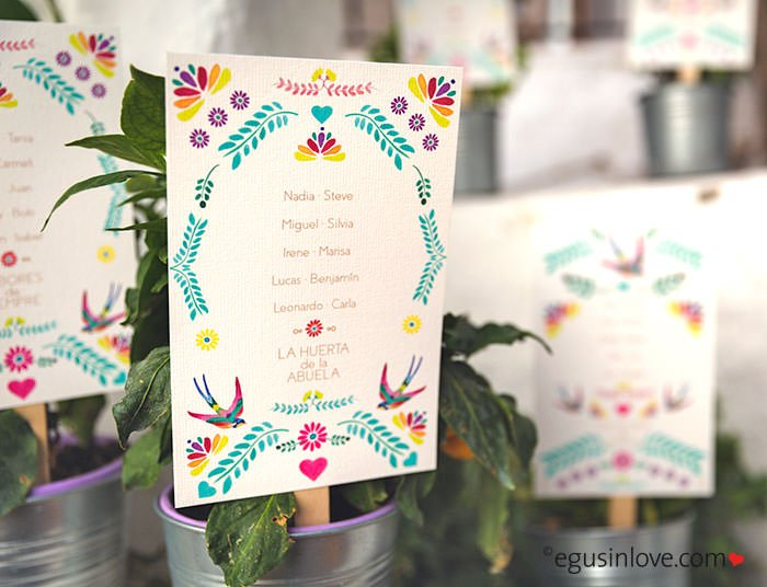 ideas seating plan bodas