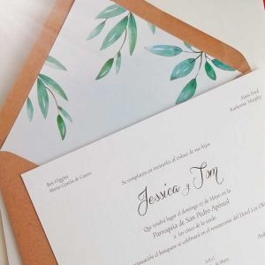 invitaciones boda sencillas egus in love